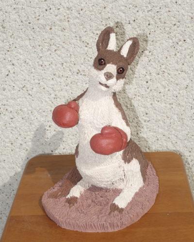 Kangourou boxeur